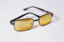 Anti Glare Glasses Yellow Lens Gaming Driving Computer Reading Eye Protection