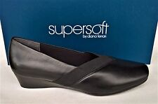 Supersoft Diana Ferrari New wedge slip on Shoes all leather - Raneen