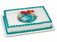 Little Mermaid Ariel edible image cake topper frosting sheet personalized #43081