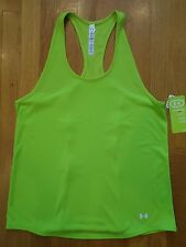 NWT Under Armour Catalyst Racerback Tank Top Womens LARGE Semi-Fitted Velocity