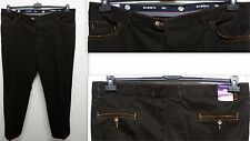 S sizes smart Men's Stretch Trousers d. brown mit Elasticated waistband Size 29,
