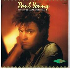 "Paul Young-Love Of The Common People 7"" 45-CBS, A 3585, 1983, Picture Sleeve"