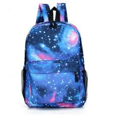 New Fashion Canvas Teenager School Bag Book Campus Star Sky Printed Bga