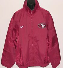 Vintage 90s SF San Francisco 49ers REEBOK Lite JACKET NFL ProLine BACK PATCH NWT