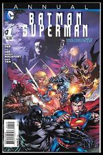 BATMAN SUPERMAN ANNUAL #1 (2014) NM 1:25 VARIANT ED BENES RARE DC COMICS NEW 52!