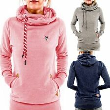 Long Sleeve Pocket Hoodie Sweater Sweatshirt Pullover Blouse Tops Women Ladies