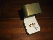 BEAUTIFUL 9CT GOLD DIAMOND SET TWIST WEDDING RING ARGOS £169.99 VARIOUS SIZES