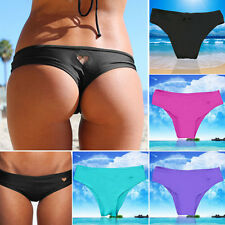 LADIES Brazilian Bikini Swimwear Bathing Beach Thong Ruched Scrunch Bottom HOT