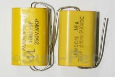 Polyester Film Capacitor CL250V or 400V 1uF-10uF options 1-4pcs for amplifiers
