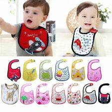 1pc New cotton waterproof Baby Boys Girls Kids Children Bibs Saliva Burp ApronRE