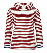 Seasalt Four Winds Reversible Sweatshirt - Duo Dahlia Marine (Red and Blue)