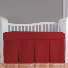 Nursery Bedding Set Crib/Cradle/Toddler Fitted Three Pleat Skirt Quilt Bumper
