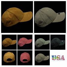Men's Baseball Cap Fashion Hat Trucker Suede Caps Casual Solid Hats Unisex Visor