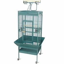 """61"""" Large Iron Parrot Bird PlayTop Stand Finch Cockatoo Cage Macaws Pet Macaw"""