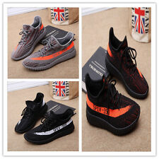 MENS YEEZY BOOST TRAINERS FITNESS GYM SPORTS RUNNING SHOCK SHOES SPORTS !