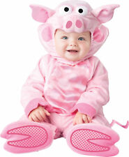 Precious Piggy Child Costume Lined Zippered Jumpsuit InCharacter Toddler