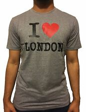 I Love London T-shirt top tee men women unisex premium quality cotton UK Seller