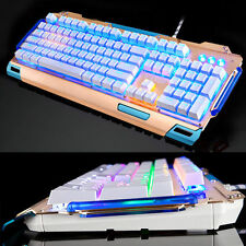 104 Keys XM-K916 Backlit Usb Ergonomic Multimedia Mechanical Gaming Keyboard