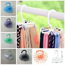 Rotating Holder Scarves Rack Hanger Closet Organizer Tie Hook