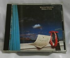 Willie Nelson Without A Song Japan 1st Press CD 1983 35DP 107 RARE!!! HTF