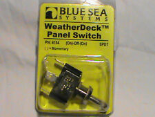 Blue Sea Systems WeatherDeck Panel Switch PN: 4154 (on)-off-(on)