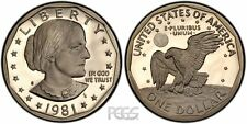 Roll of Gem PROOF CAMEO 1981-S Susan B. Anthony Dollars - Free Shipping
