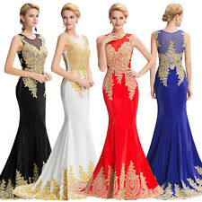 Sexy Cocktail Party Formal Evening Dresses Bridesmaid Long Prom Masquerade Dress
