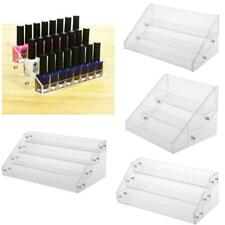 3/4 Tier Clear Acrylic Nail Polish Cosmetic Varnish Display Stand Rack Organizer