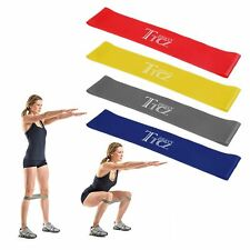 Resistance Band Loop Power Gym Sports Fitness Exercise Yoga Workout New