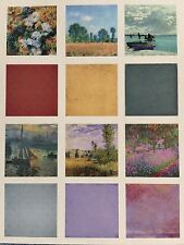 Paper House: Garden Nature Impressions 12x12Double Sided Scrapbook Paper-Various