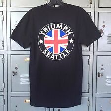 Triumph Motorcycles Triumph Of Seattle Logo T-Shirt