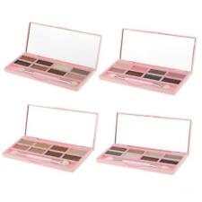 8 Colors Eye Shadow Cream Makeup Cosmetic Shimmer Eyeshadow Palette w/ Brush Kit