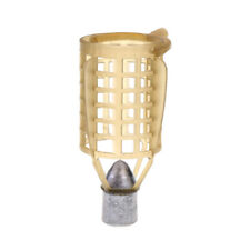 Carp Fishing Feeder Lure Cage Feeders Trap Basket with Fishing Lead Sinker