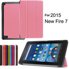 """Ultra Thin PU Leather Folio Case Cover Skin Stand for Amazon Kindle Fire HD 7"""""""