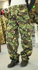 LADIES FASHION GENUINE BRITISH ARMY COMBAT TROUSERS in WOODLAND CAMO