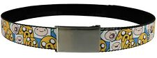 Adventure Time Finn & Jake Stacked AT Web Belt