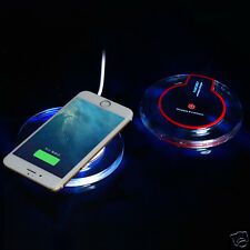 Qi Wireless Fast Charger Charging Pad for Qi-marked Devices Samsung iPhone