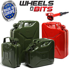 5L 10L 20L Litre JERRY MILITARY CAN FUEL OIL WATER PETROL DIESEL KEROSENE WATER