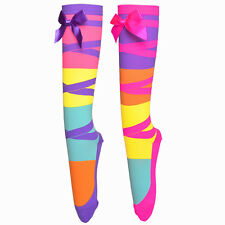 MADMIA Socks Follow ME colorful fun dancing girls crazy socks crazy sock day