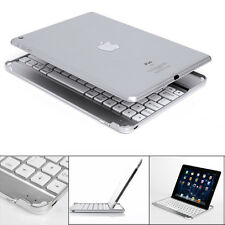 New Aluminum Wireless Bluetooth Keyboard Case Stand Cover For iPad Mini Air Pro