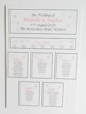 Wedding Place Card * Table Number * Menu * Camera Card * Table Plan * Signs *LE*