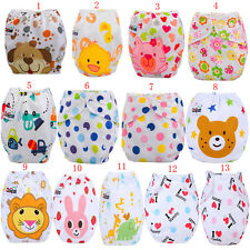 Lovely Newborn Baby Washable Reusable Breathable Nappy Cloth Diaper Cover Wrap