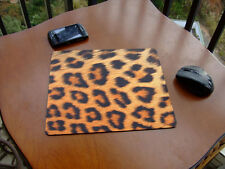 Leopard Design Mouse Pad Cup Mat Table Placemat Mousepad Free Shipping to USA