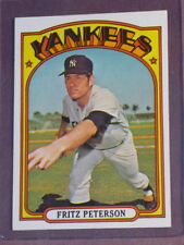 1972 Topps Fritz Peterson #573 Yankees NM