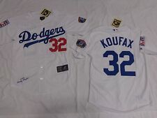 Los Angeles Dodgers Sandy Koufax Cooperstown Collection Sewn Jersey White
