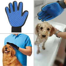 True Touch Deshedding Brush Glove Pet Dog Cat Gentle Efficient Massage Brush