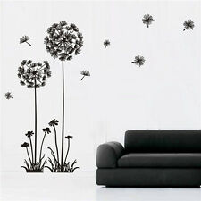 Removable Dandelion Flowers Wall Sticker Decal Vinyl Art Mural Room Decors