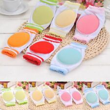 1 Pair Cozy Learn To Walk Baby Crawling Sponge Cotton Breathable Kids Knee Pad