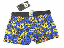 New Mens Taz Tazmanian Devil Boxer Trunks Shorts Official Looney Tunes S M L XL