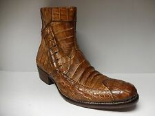 Calzoleria Toscana All Over Crocodile Boots